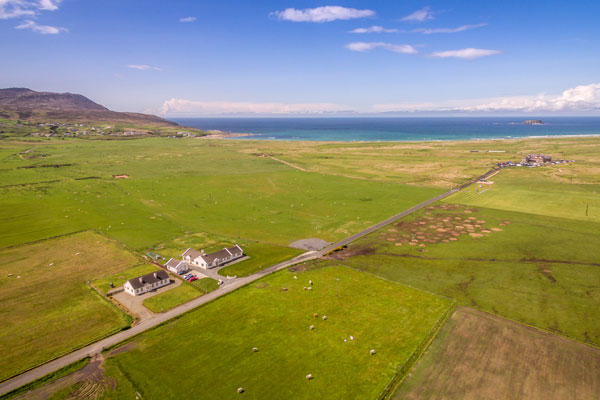 The house, Ballyliffin Golf Clubhouse, Pollan Bay & Glashedy Island